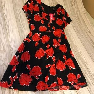 Suzanne Betro floral NWT dress